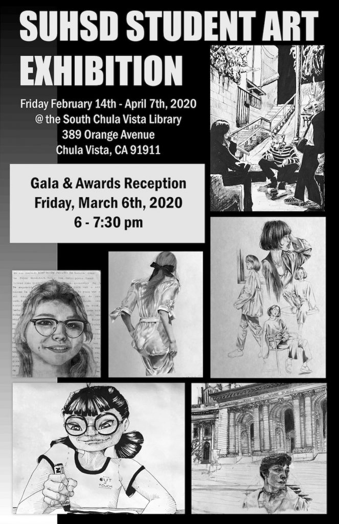 SUHSD Student Art Exhibition, Gala and Awards Reception 2020